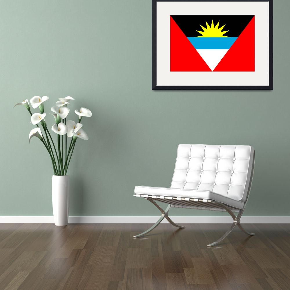 """Antigua and Barbuda&quot  by tony4urban"