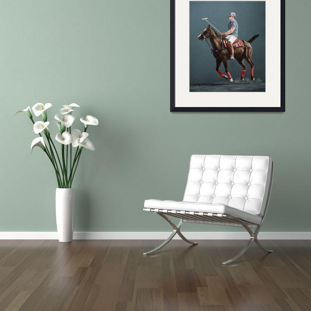 """Polo Pony painting&quot  by AnimalsbyDiDi"