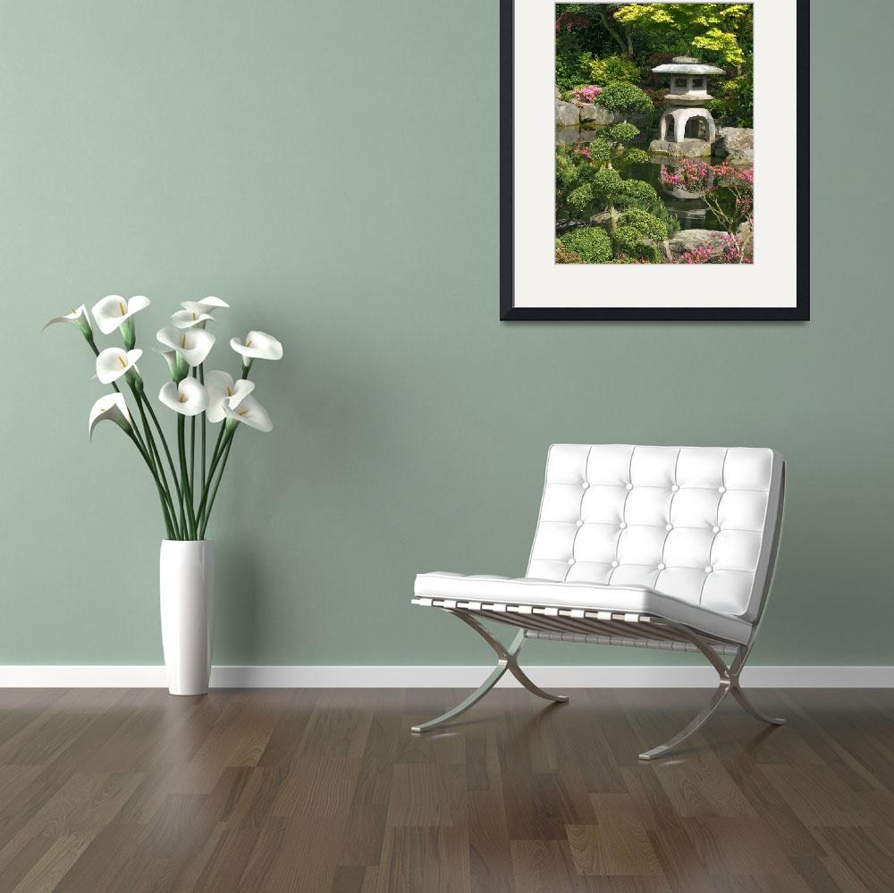 """Japanese Garden&quot  (2008) by fizzyimages"