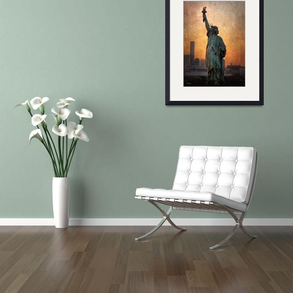 """Statue of Liberty&quot  (2011) by eenabo"