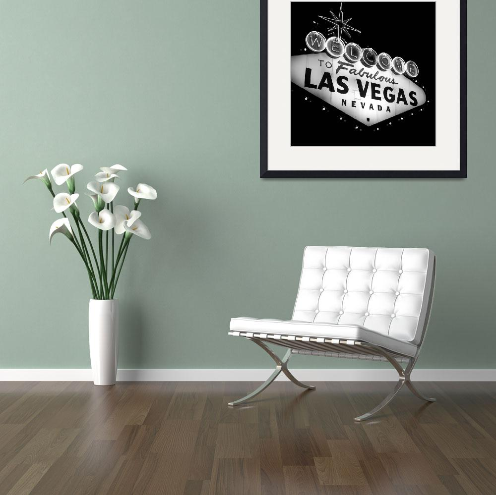 """Vegas Sign No. 21&quot  (2008) by PadgettGallery"
