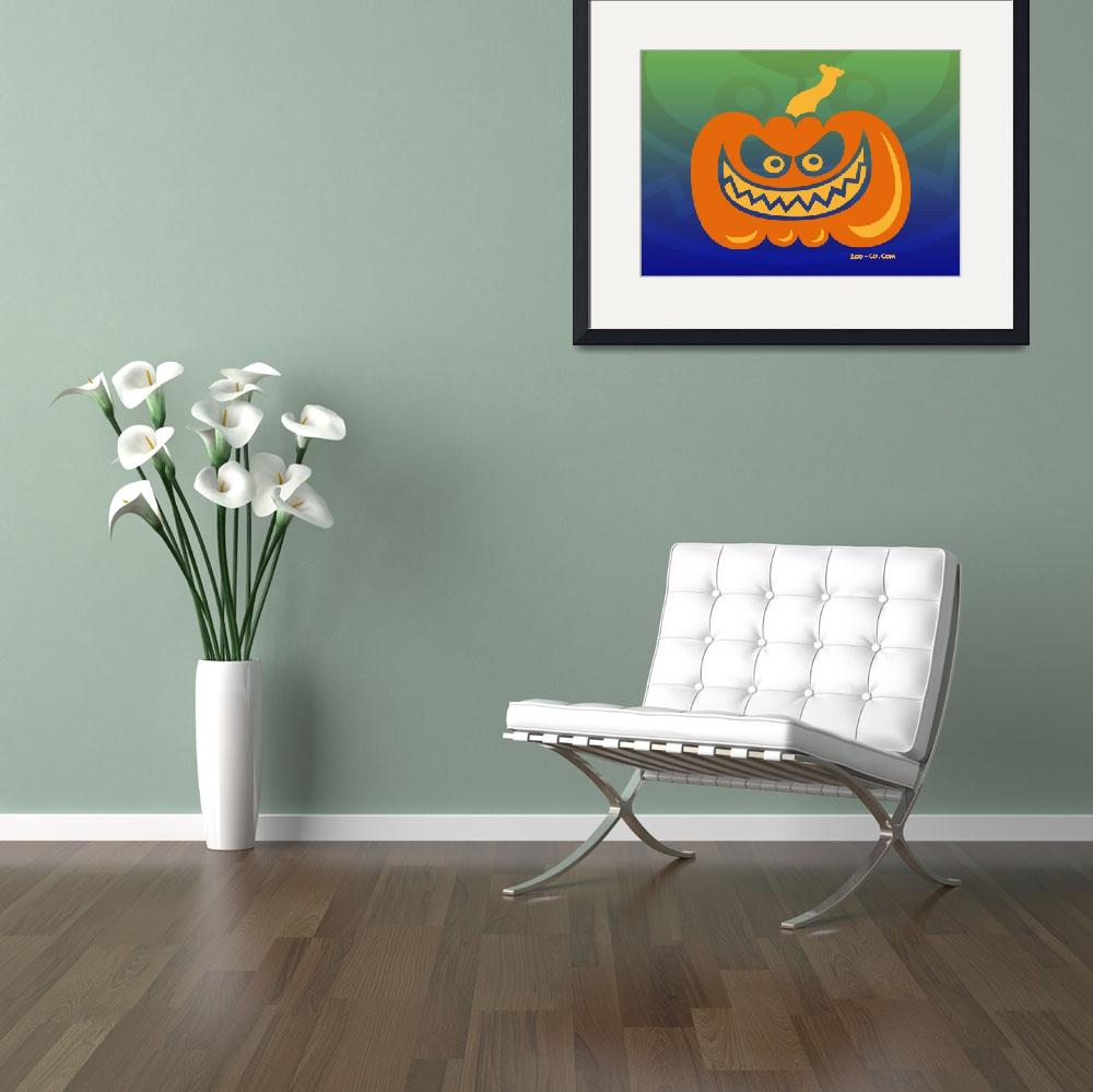 """Crazy Pumpkin&quot  (2009) by Zooco"