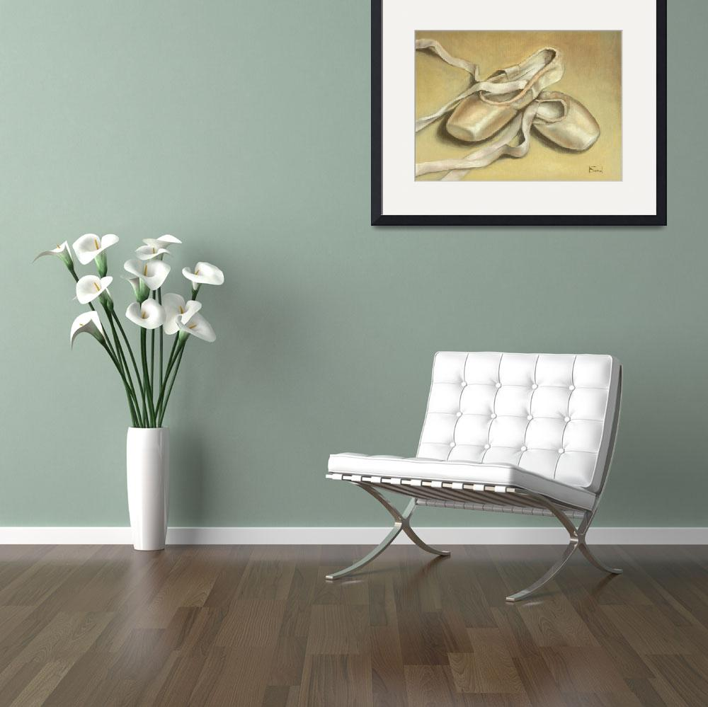 """Ballet shoes&quot  (2009) by tanyabond"