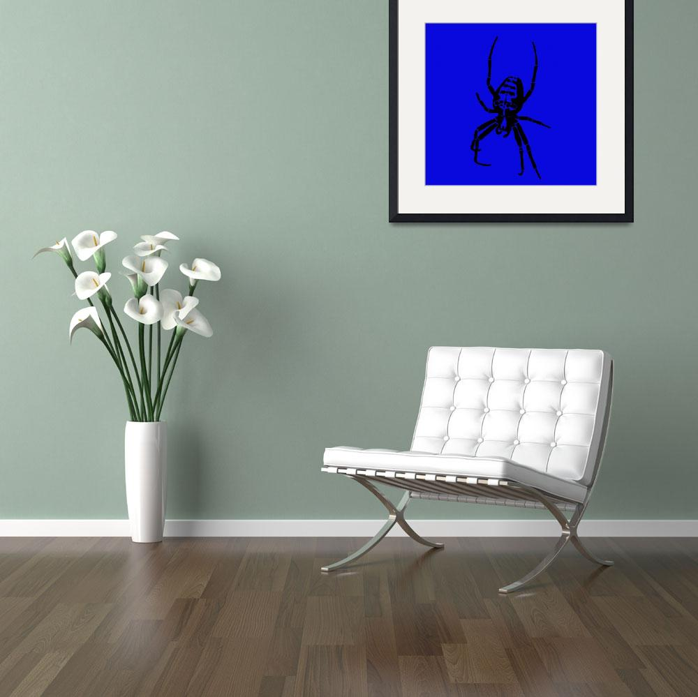 """Spider - Black & Blue 2&quot  (2011) by ChainsawNecktie"