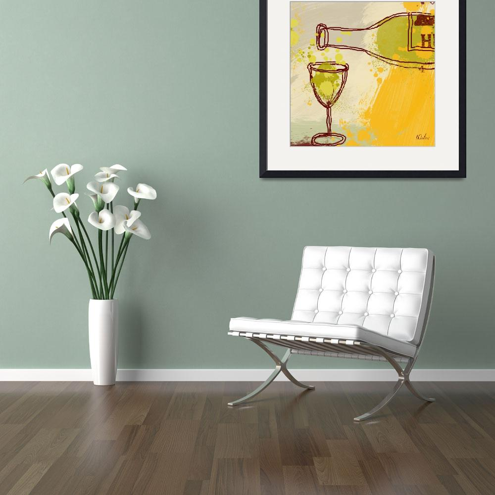 """Good wine&quot  by Aneri"