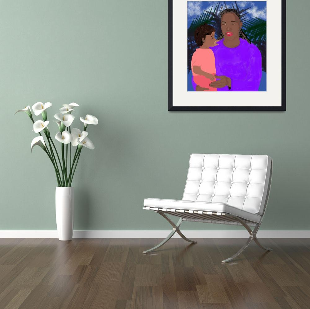 """Mother and Daughter&quot  (2006) by pharrisart"
