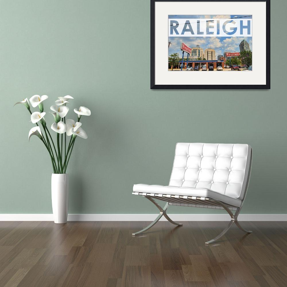 """Raleigh At The Firestone&quot  by WrightFineArt"