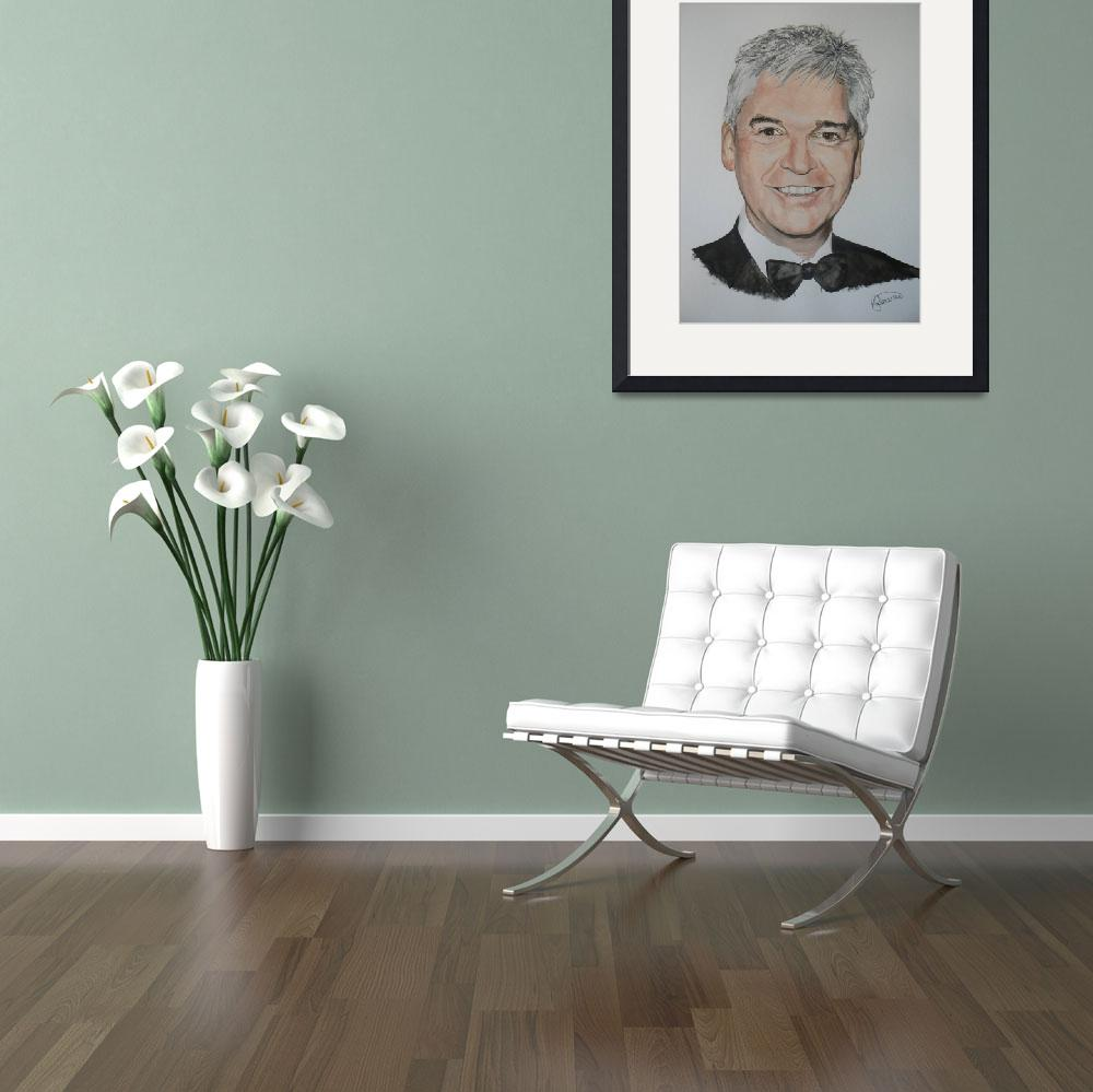 """Phillip Schofield&quot  (2009) by Rogertheartist"