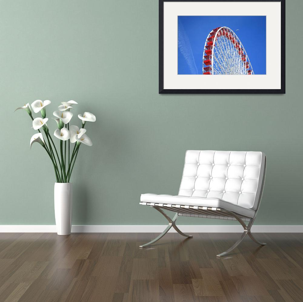 """Ferris Wheel&quot  (2010) by Ffooter"