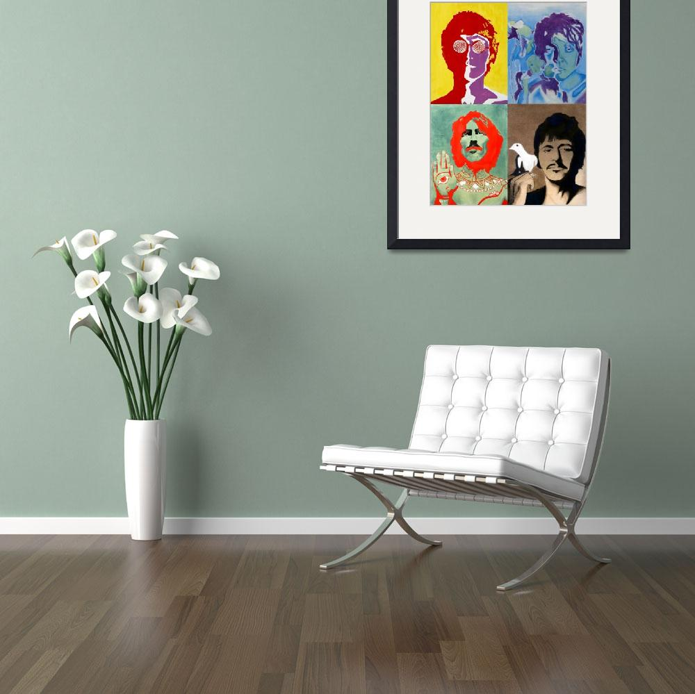 """The Beatles - Colour&quot  (2008) by axemangraphics"