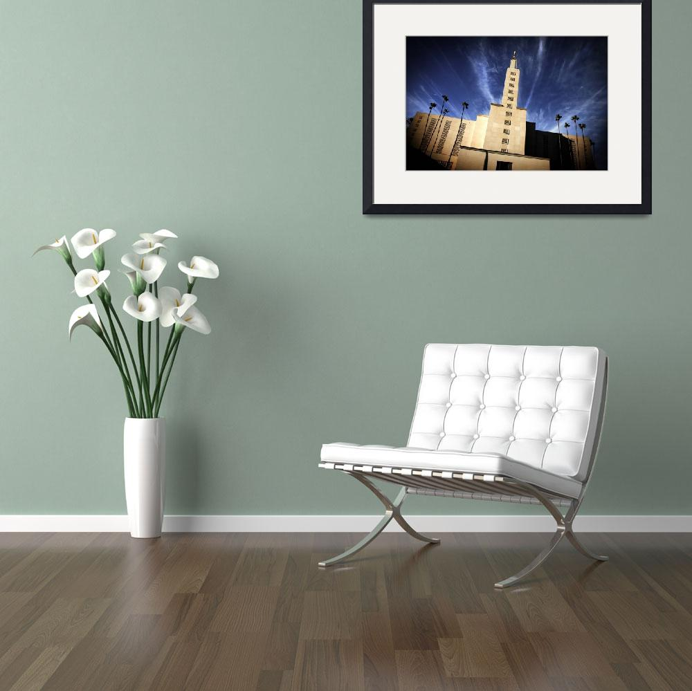 """Los Angeles LDS Temple&quot  (2008) by LDSTempleArt"
