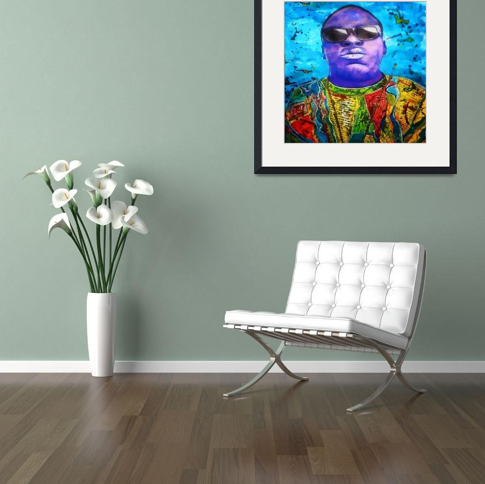 """Biggie Smalls&quot  (2015) by EWorthington"