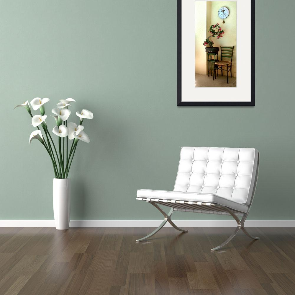 """chair and flower&quot  (2007) by DuffyPhoto"