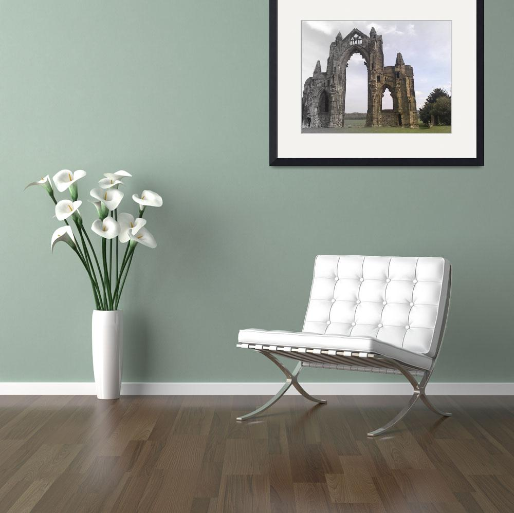 """Guisborough Priory&quot  by redsquirrel"