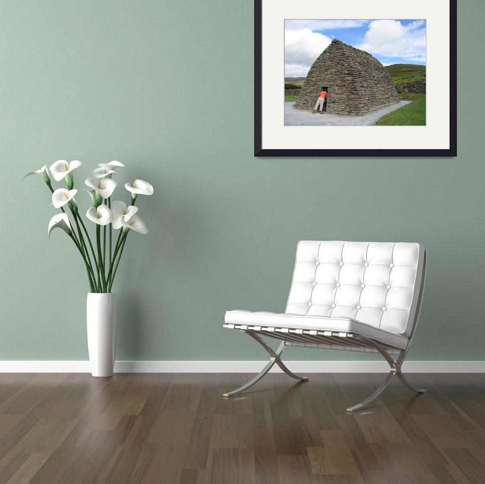 """Anyone Home? Galarus Oratory, Co. Kerry&quot  by turly"