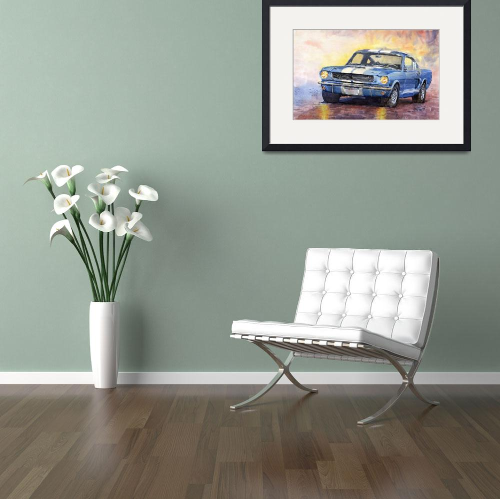 """Ford Mustang GT3501966&quot  (2010) by shevchukart"