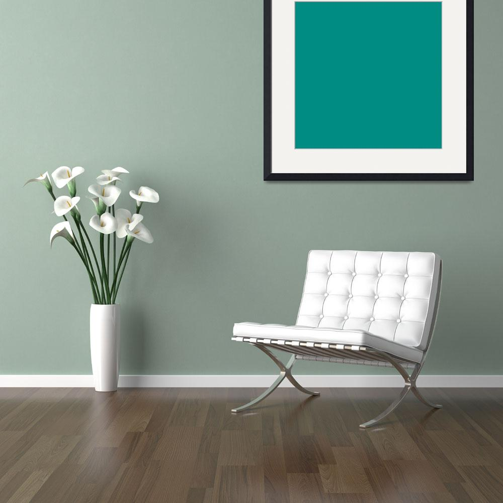 """Square PMS-327 HEX-008C82 Green&quot  (2010) by Ricardos"