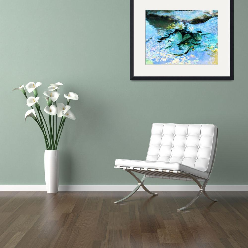 """Water Lillies&quot  (2011) by Debrene"
