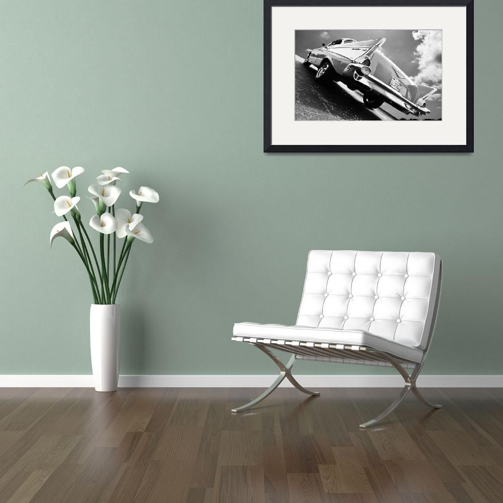"""1957 Chevrolet Bel Air (B&W)&quot  (2014) by Automotography"