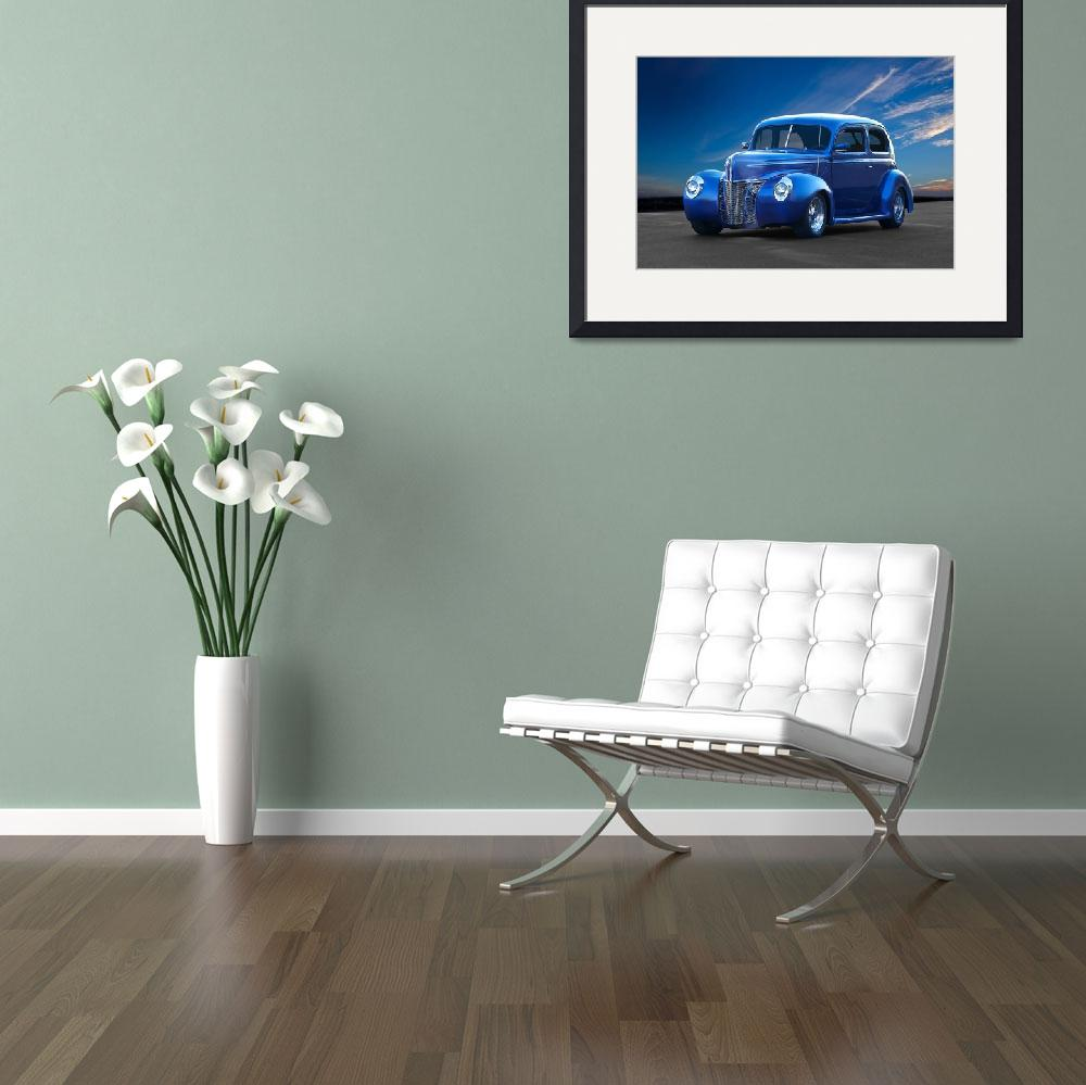 """1940 Ford Deluxe Tudor Sedan&quot  by FatKatPhotography"