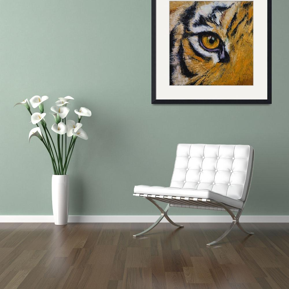 """Tiger Eye&quot  by creese"