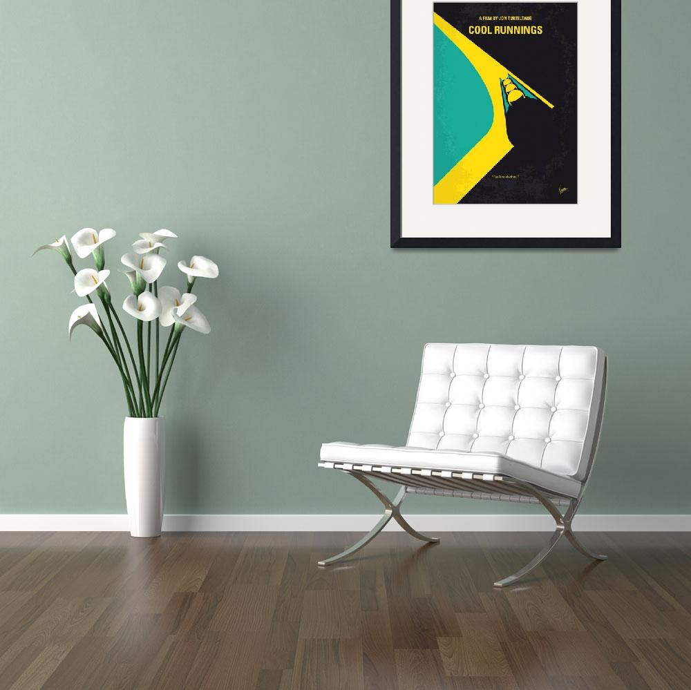 """No538 My COOL RUNNINGS minimal movie poster&quot  by Chungkong"