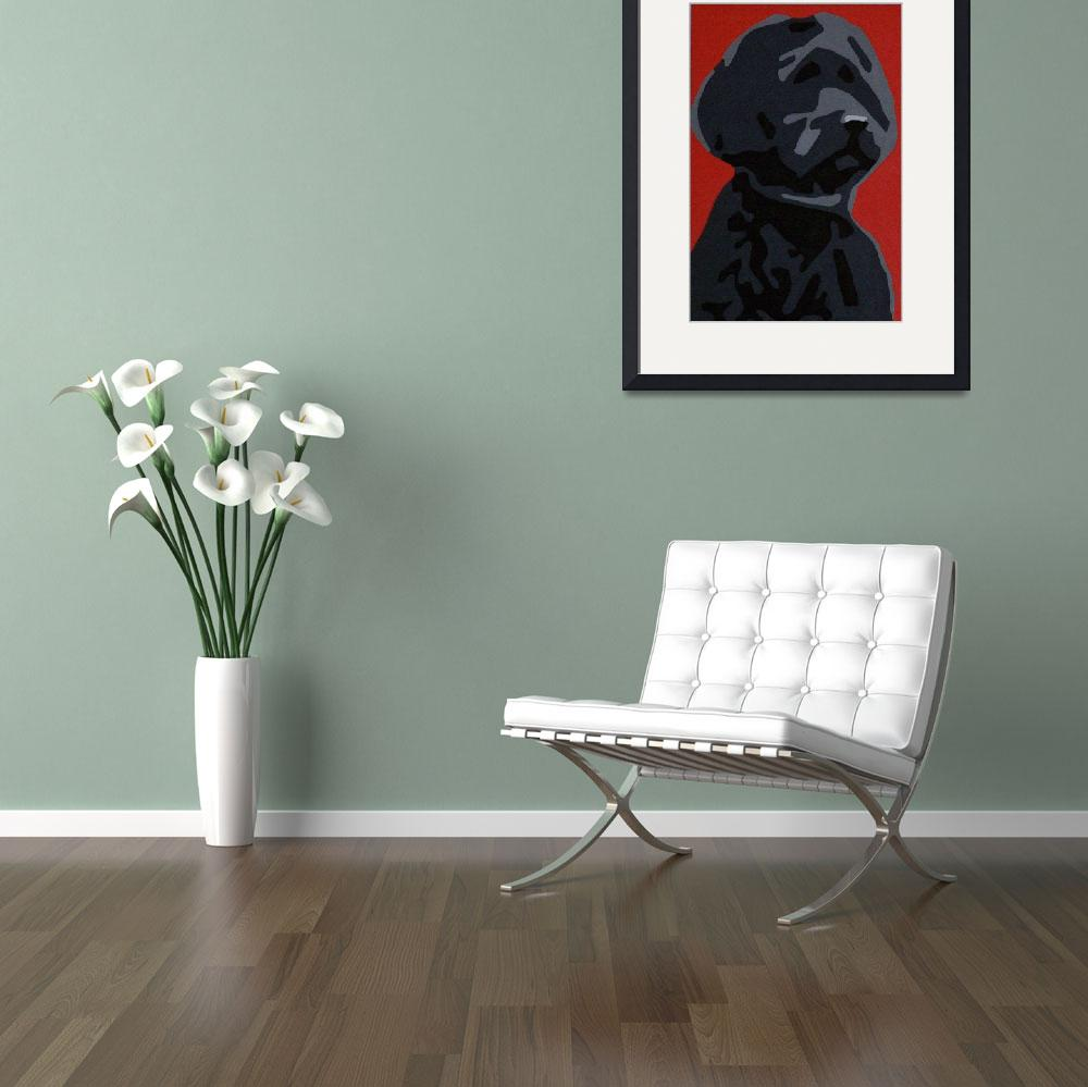 """Portuguese Water Dog&quot  (2007) by kristenandersonart"
