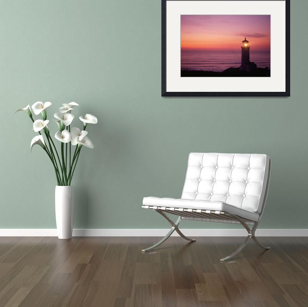 """North Head lighthouse&quot  (2008) by christopherboswell"