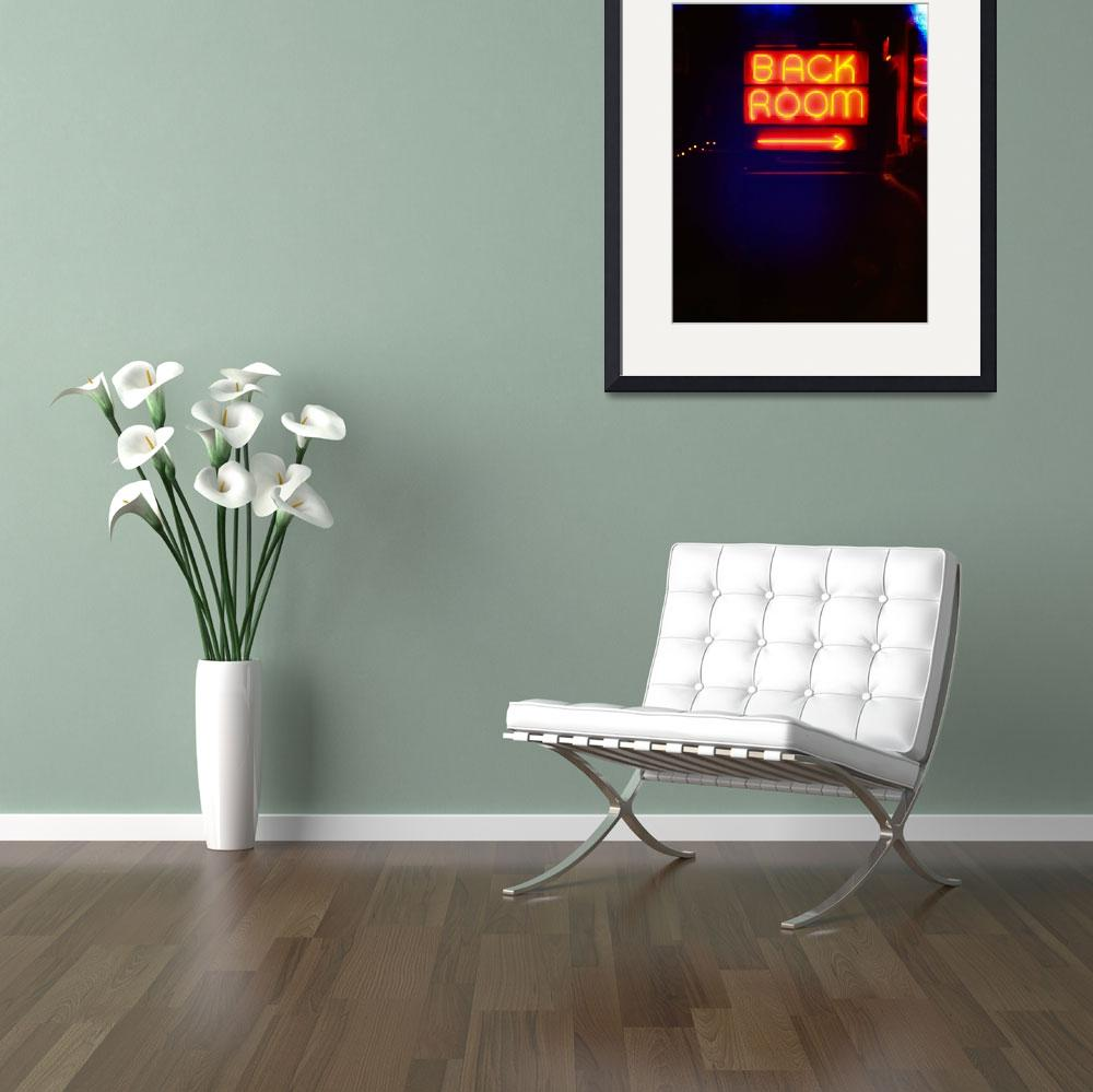 """Back Room (Bogarts)&quot  (2008) by plaidleaf"