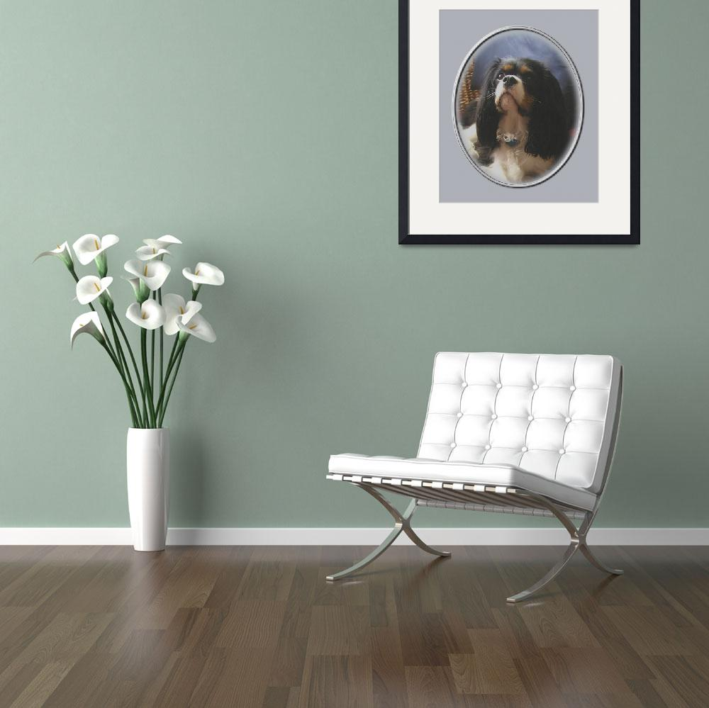 """Lily, Cavalier King Charles Spaniel&quot  by swargo"