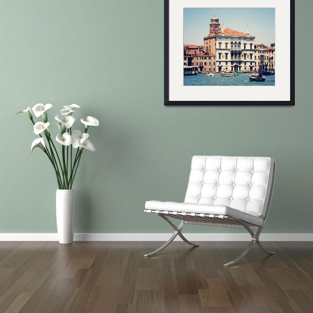 """Venice 4 copy 65x55&quot  by SylviaCoomes"