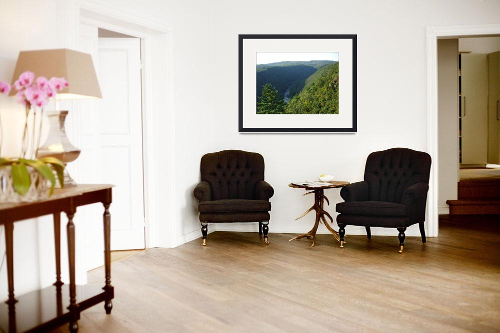 """North View Pennsylvania Grand  Canyon by Ave Hurle&quot  (2009) by AveHurley"