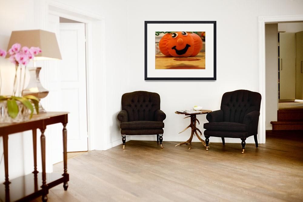 """Halloween pumpkin&quot  (2009) by Albertphoto"