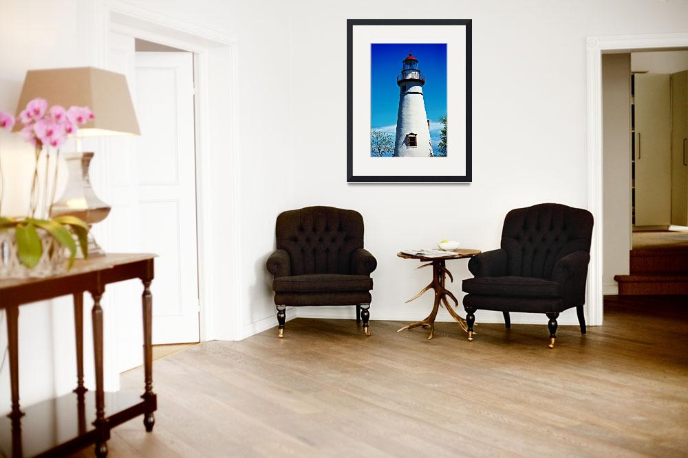 """Marblehead Lighthouse&quot  (2009) by rmcbuckeye"