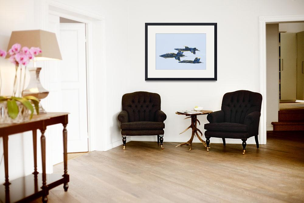 """NAVY BLUE ANGELS&quot  (2011) by homegear"