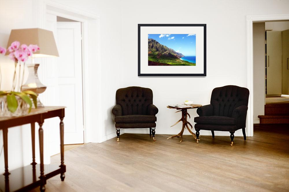 """Kalalau Valley Panorama&quot  (2012) by skystudiohawaii"