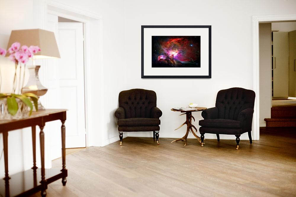 """Orion Nebula&quot  (2010) by ModernArtPrints"