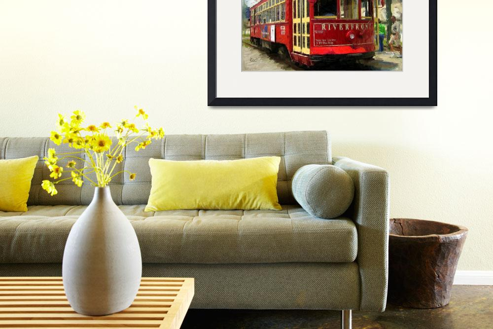 """French Quarter Trolley&quot  (2009) by knightvision"