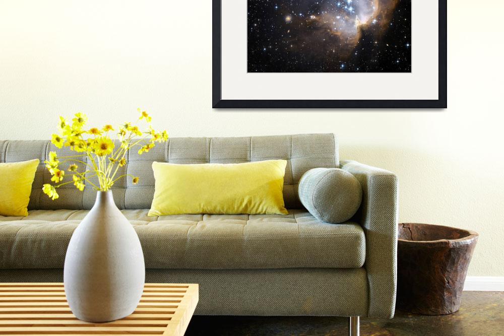 """Newly formed stars in the Small Magellanic Cloud.&quot  by stocktrekimages"