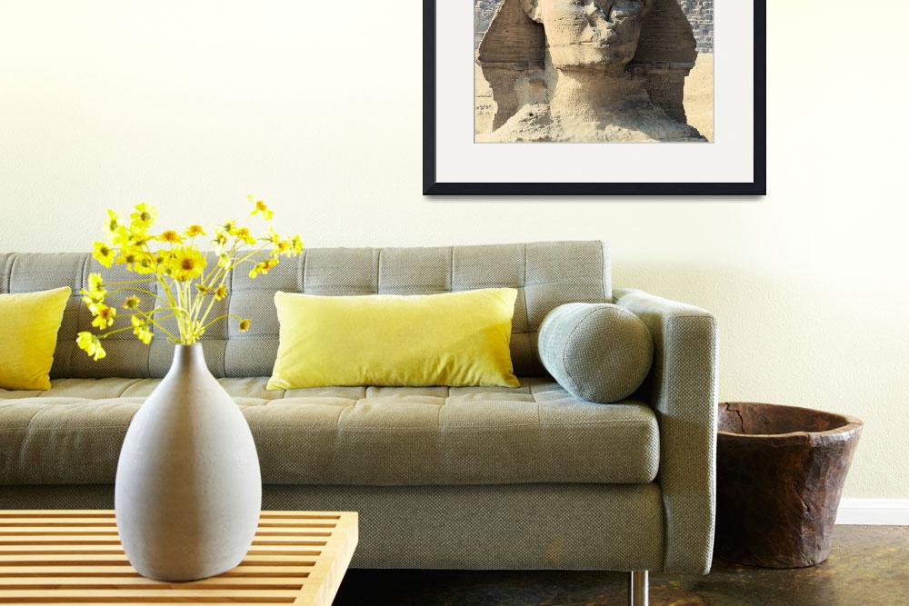 """Great Sphinx of Giza 7&quot  by rhallam"