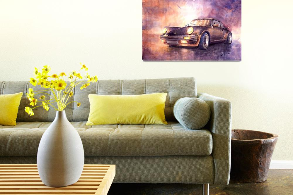 """Porsche 911 Turbo&quot  (2010) by shevchukart"