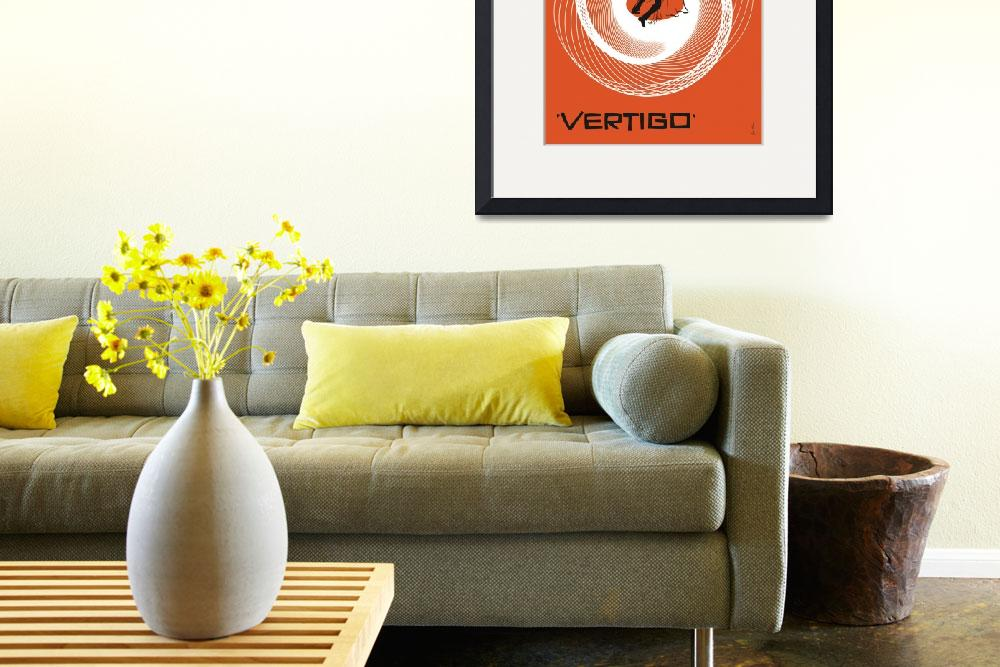 """Vertigo Movie Poster&quot  (1958) by jvorzimmer"