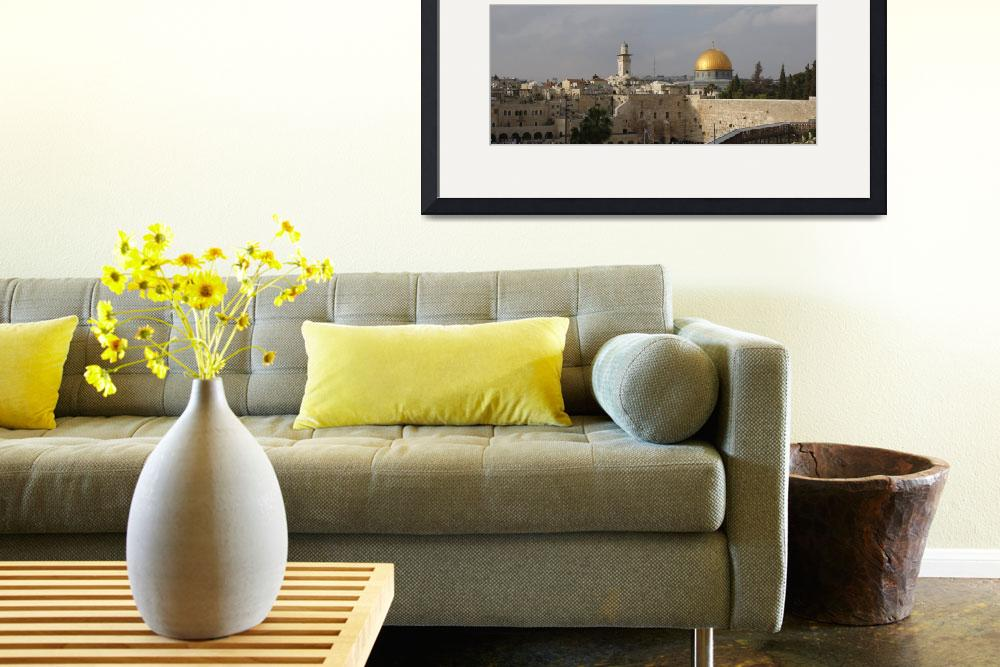 """Jerusalem&quot  (2010) by royporat"