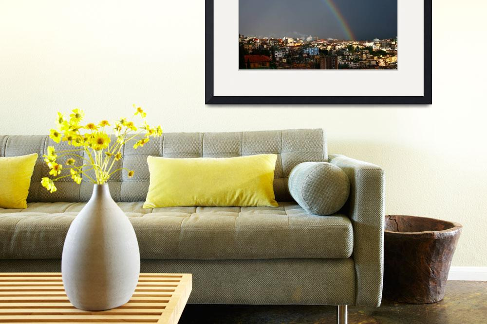 """rainbow over Napoli&quot  (2008) by kerrinsuzanne"
