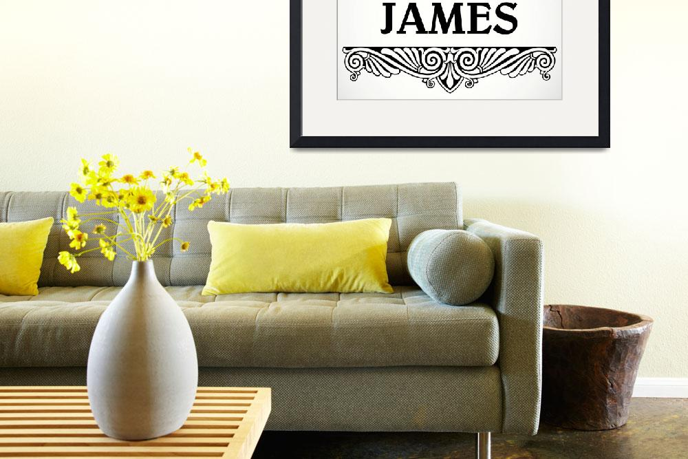 """JAMES ORN&quot  by monkeydesigns4u"