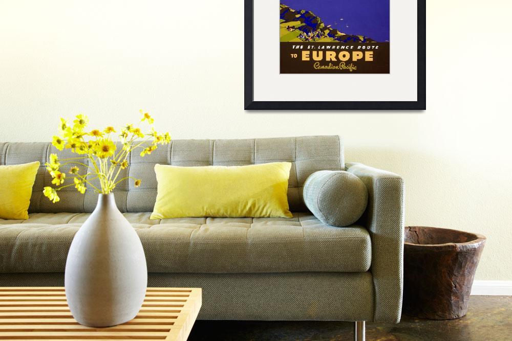 """Travel Europe&quot  (2011) by dalidayna"