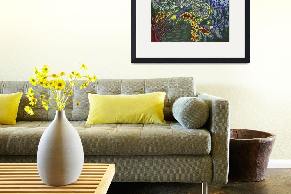 """Fine Art Prints Contemporary Abstract Modern Deco&quot  (2008) by BasleeTroutman"