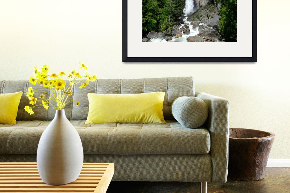 """Vernal Fall Vista&quot  (2008) by PadgettGallery"