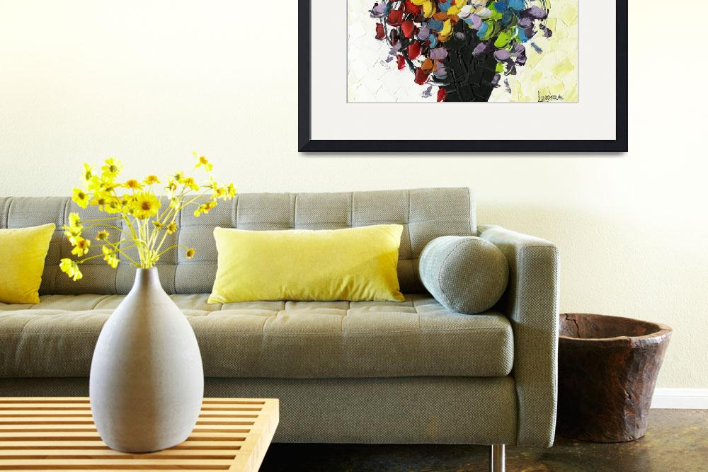 """Wild Flowers Bouquet&quot  (2009) by modernhouseart"