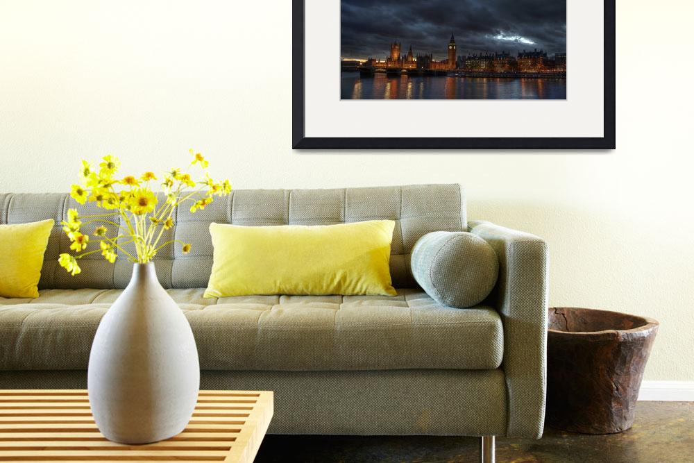 """London Cityscape&quot  by Stickley"